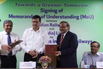 Indian Railways and GAIL ink MoU