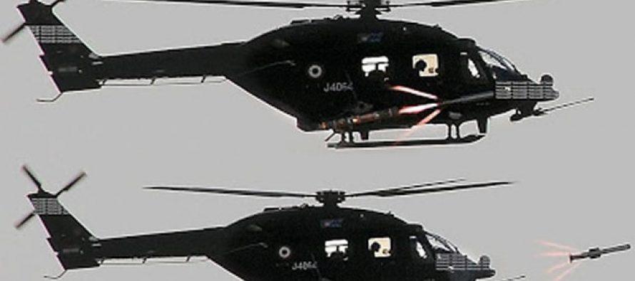 DRDO SUCCESSFUL FLIGHT TEST OF ATGM 'HELINA'