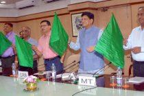 Railway Minister Goyal flags off Naini-Doon Janshatabdi Express