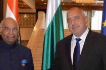 President of India, Ram Nath Kovind, meeting with Boyko Borissov, Prime Minister of the Republic of Bulgaria