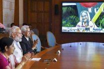 Hasina, Modi inaugurate rail projects, power supply