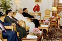 PARLIAMENTARY DELEGATION FROM SRI LANKA CALLS ON THE PRESIDENT