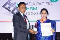 """Director (HR), POSOCO has been felicitated as """"Women Super Achievers for Excellence in HR"""""""