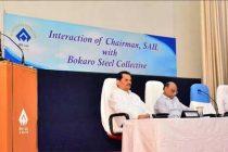 SAIL Chairman exhorts Team Bokaro to aim high, harness full potential