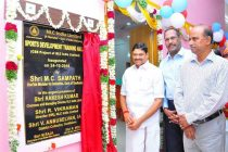 Minister M. C. Sampath extols NLCIL for its CSR initiatives at Anna Stadium, Cuddalore