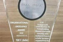 NBCC WINS ORGANISATIONAL EXCELLENCE AWARD