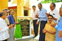 Rakesh kumar,CMD, NLC India Ltd. inaugurates Rs 1.34 Crore facilities  at Cuddalore