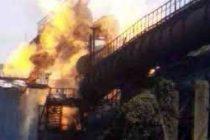 Fire at Bhilai Steel Plant's Tar Distillation Unit