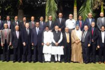 The Prime Minister, Narendra Modi with the CEOs and Experts from Oil and Gas sector, from India and abroad