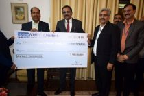NHPC contributes Rupees One Crore towards Chief Minister's Relief Fund, Himachal Pradesh