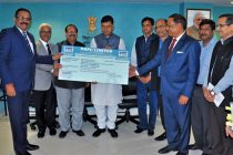 NHPC pays Dividend to Government of India