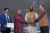 NHPC felicitated for Excellence in CSR in PSU Category at Sarkaritel.com Awards Ceremony