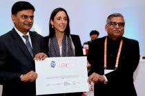 CMD, PFC PRESENTS US $ 1 MILLION RTGS ADVICE TO ISA