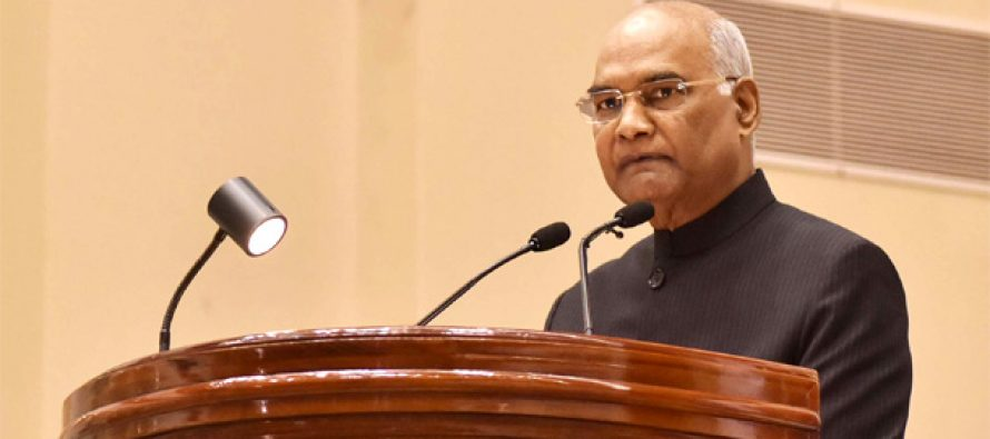 Checking corruption vital to creating new India : President
