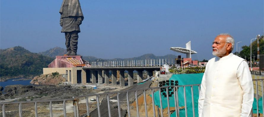 PM Modi unveils 'Statue of Unity'