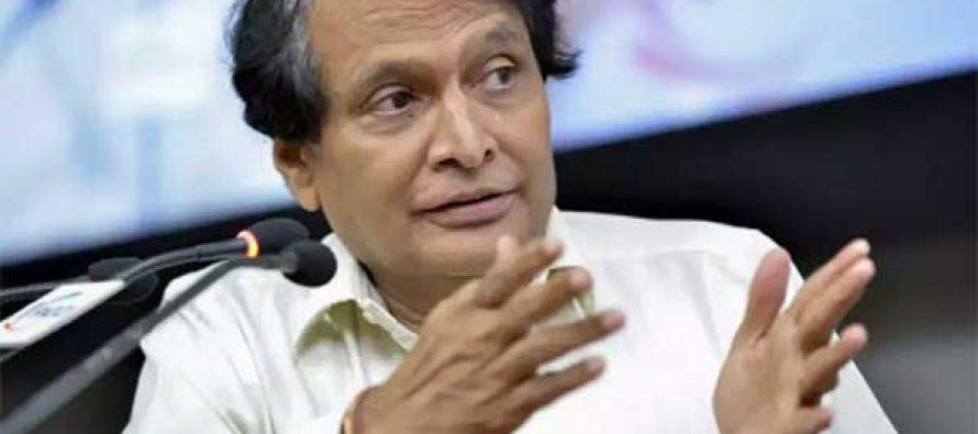 DGCA monitoring Jet Airways' safety standards : Suresh Prabhu