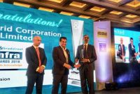 POWERGRID conferredwith D&B Infra Award-2018