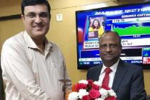 Rakesh Kumar Chairman cum Managing Director of  NLC India Ltd met Chairman of State Bank India