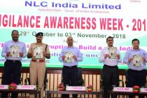 Vigilance Awareness Week -2018 observed in NLCIL
