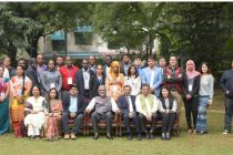 "HUDCO's HSMI organises Six Week Training on ""Formal Solutions to Informal Settlements"""