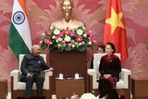 Ram Nath Kovind, the President of India, Meeting with Nguyen Thi Kim Ngan, Chairperson of the National Assembly of Vietnam