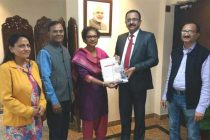 NHPC felicitated with Healthy Workplace Award
