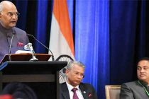 PRESIDENT OF INDIA IN AUSTRALIA; ADDRESSES INDIAN COMMUNITY IN SYDNEY