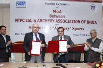 NTPC LIMITED AND ARCHERY ASSOCIATION OF INDIA PARTNERS TO NURTURE HIDDEN TALENTS IN ARCHERY