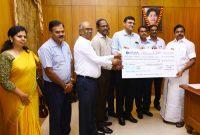 "NLC India Ltd. contributes Rs 6.79 Crore towards Tamilnadu Chief Minister's Public Relief Fund for ""Gaja Cyclone"" Restoration Works"