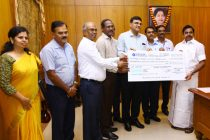 "NLC India Ltd. contributes Rs 6.79 Crore towards Tamilnadu Chief Minister's Public Relief Fund for ""Gaja Cyclone"" Restoration Works"