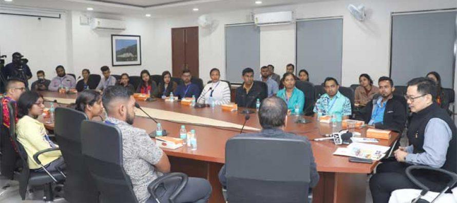 """""""Indian Diaspora are ambassadors of India's growth story"""": Kiren Rijiju"""