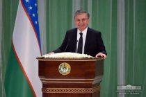 The President of UZbekistan, Shavkat Mirziyoyev address warmed people's heart