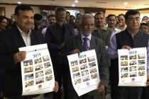 Dr. M Ravi Kanth, CMD released HUDCO calendar and diary of 2019