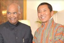 Dr. Lotay Tshering Prime Minister of the Kingdom of Bhutan called on the President of India, Ram Nath Kovind