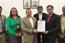 Railway officers delegation presents memorandum to MoS DoPT Dr Jitendra Singh