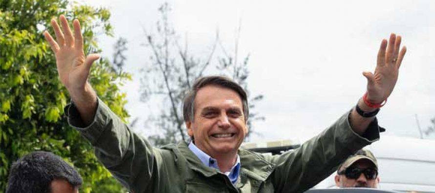 Jair Bolsonaro sworn in as Brazil's new President