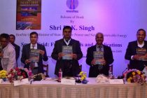 R.K. Singh, Minister for Power Released a Book on Smart Grid