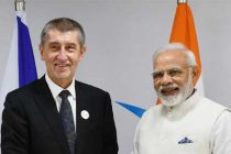The Prime Minister, Narendra Modi meeting the Prime Minister of Czech Republic, Andrej Babis