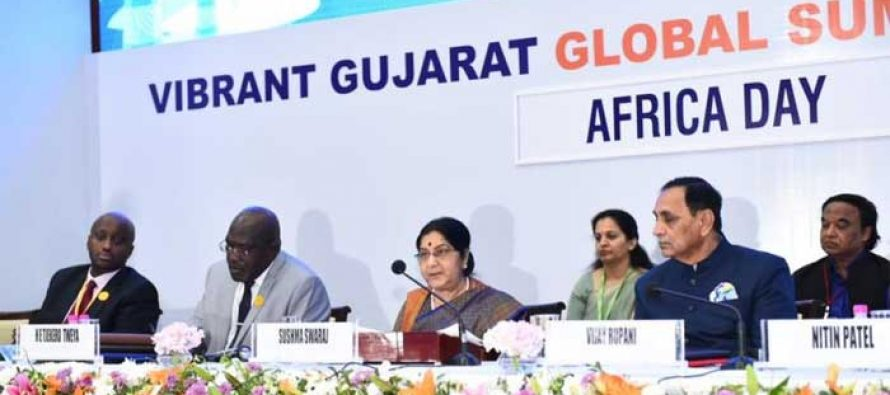 India-Africa ties to redefine international order on egalitarian lines: Sushma Swaraj
