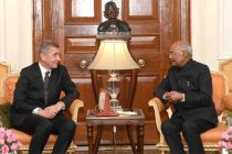 PRIME MINISTER OF CZECH REPUBLIC CALLS ON THE PRESIDENT