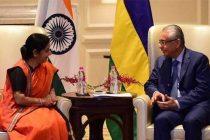 India, Mauritius discuss strengthening bilateral ties