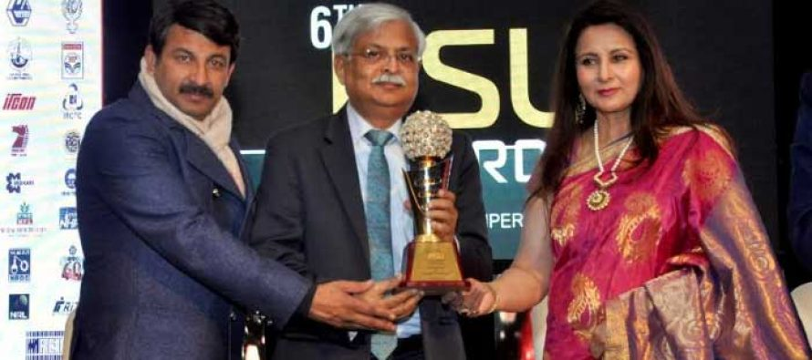Oil India Limited bags award for Strategic Investment at the 6th Governance Now PSU Awards-2018