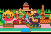 Google displays colourful doodle to mark 70th R-Day