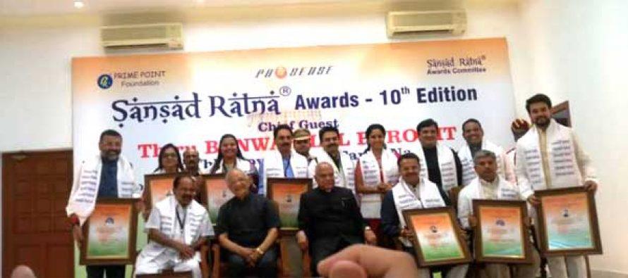 Sansadratna  Awards 10th Anniversary Glitters at Raj Bhavan