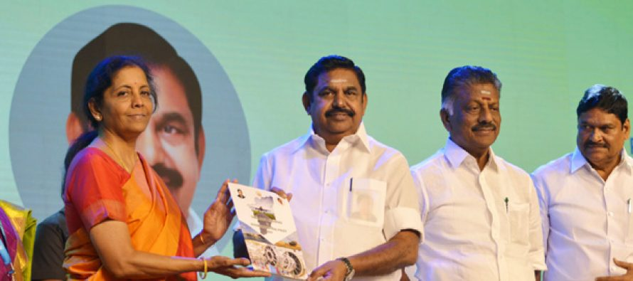 Sitharaman launches TN Aerospace and Defence Industrial Policy