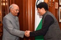 Goyal meets President ahead of Budget