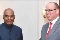 PRINCE ALBERT II OF MONACO CALLS ON THE PRESIDENT
