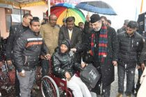 NHPC distributes Aids and Assistive devices to differently abledunder  CSR-SD scheme
