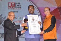 WORLD HRD CONFERS GLOBAL HR LEADERSHIP AWARD  to R.VIKRAMAN Director/HR, NLC India Ltd.