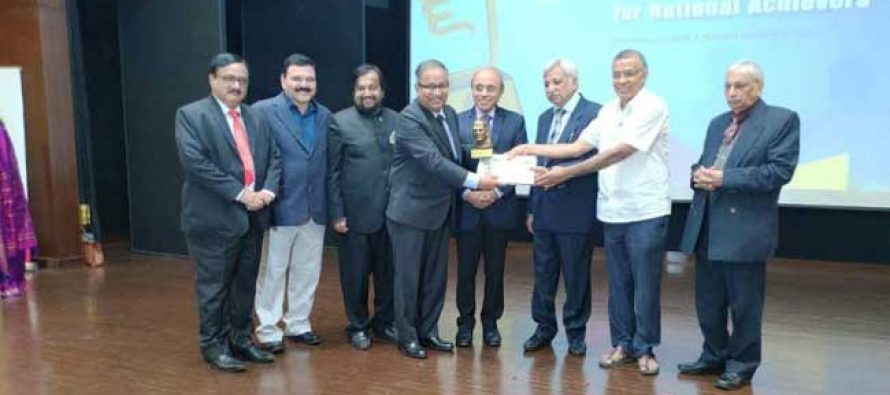 NTPC Executive Director (HR) receives Coveted Business Communication & HR Excellence Award